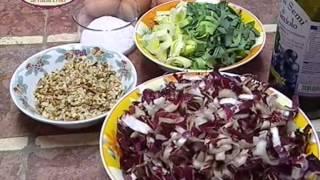 Repeat youtube video In cucina con Ester Mozzi: cannelloni al radicchio e tortino di patate - parte a