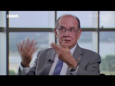 Roberto D'Avila Entrevista o Ministro do STF Gilmar Mendes - Programa Roberto D'Avila - GloboNews