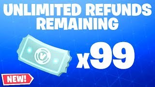 Comment obtenir DES REFUNDS UNLIMITED à Fortnite. (NOUVELLE MISE À JOUR)