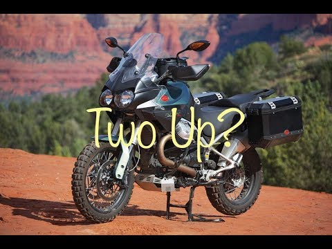 Moto Guzzi Stelvio 1200 NTX   The Best Adventure Bike for Two Up Riding