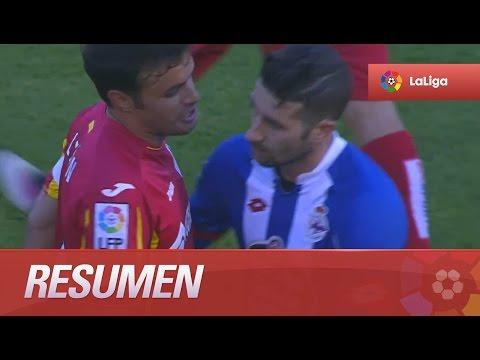 Resumen de Deportivo de la Coruña (0-2) Getafe CF