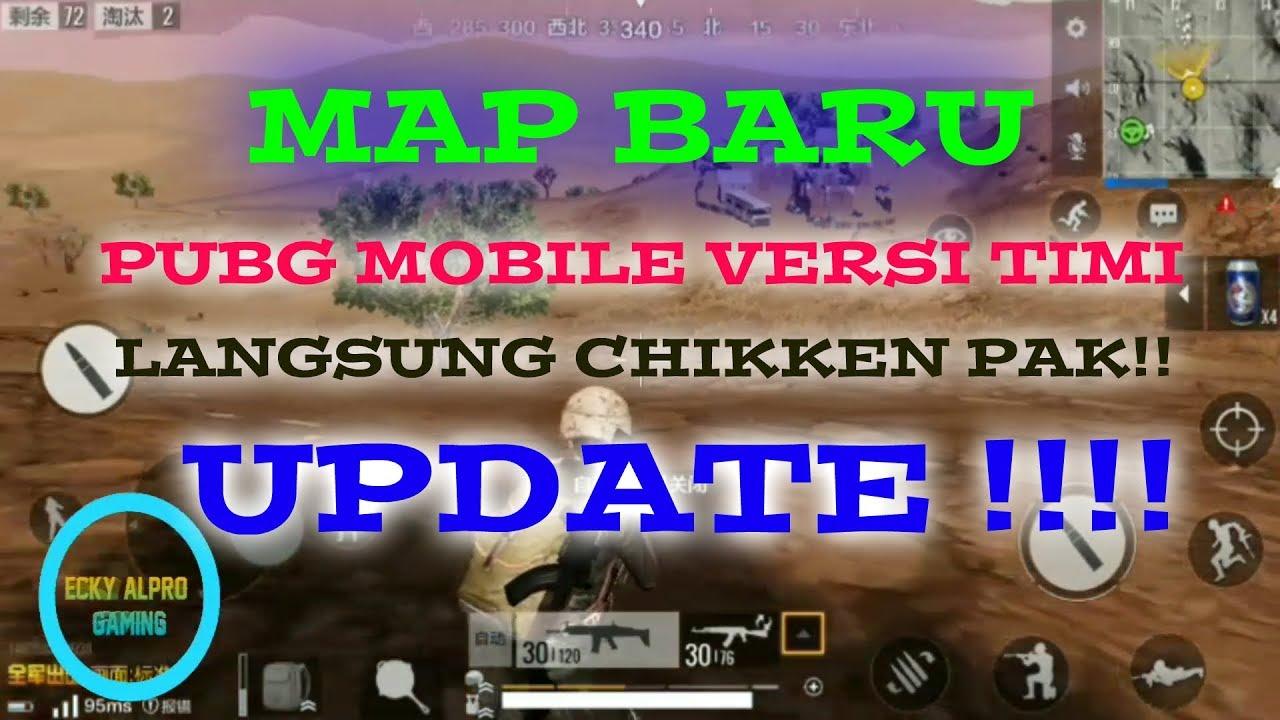 Pubg Mobile Timi Youtube: MAP BARU DI PUBG MOBILE VERSI TIMI WOWW, GUE LANGSUNG