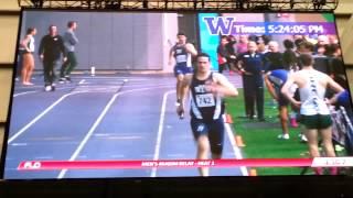 BYU Mens 4x400 relay New School Record!!