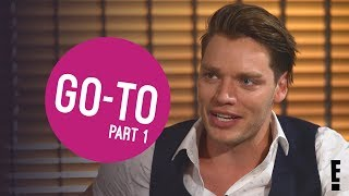 GO-TO: Dominic Sherwood PART 1 | DIGITAL EXCLUSIVE | The Hype | E!