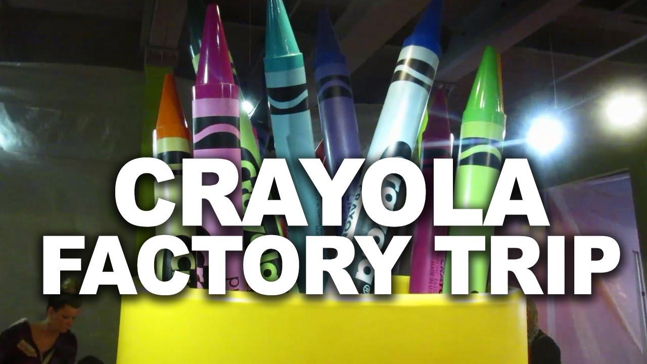 CRAYOLA FACTORY EXPERIENCE - HOMESCHOOL FIELD TRIP - YouTube