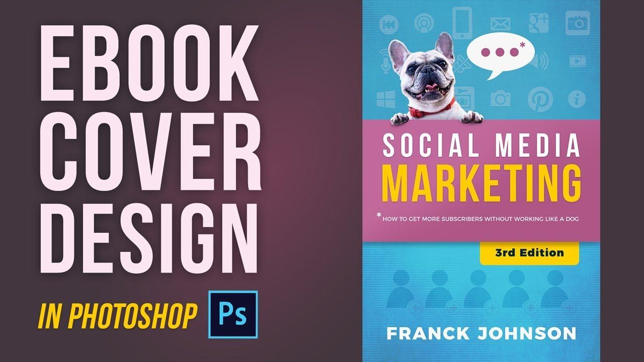 Social Media Marketing Book Cover Quentin Designs