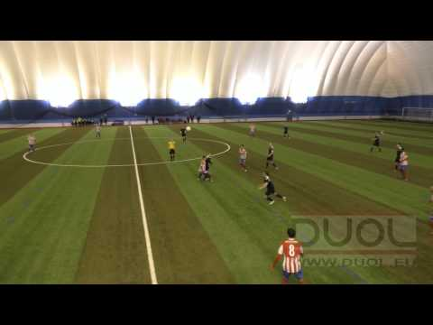 Football match in Legirus Areena (Helsinki, Finland) covered by DUOL air dome