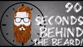 90 Seconds Behind the Beard #4 - Don't Be A Mean Person #businessloan #funding
