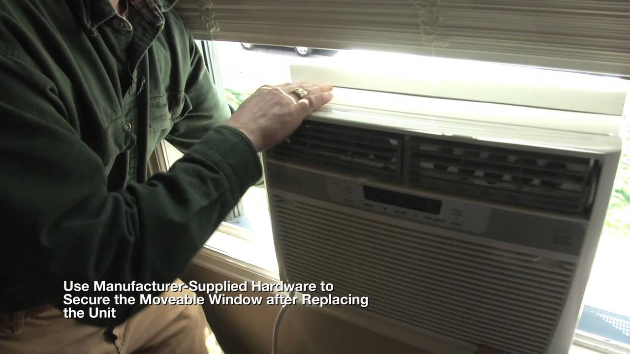 Homeowner's Guide to Window Air Conditioner Installation on