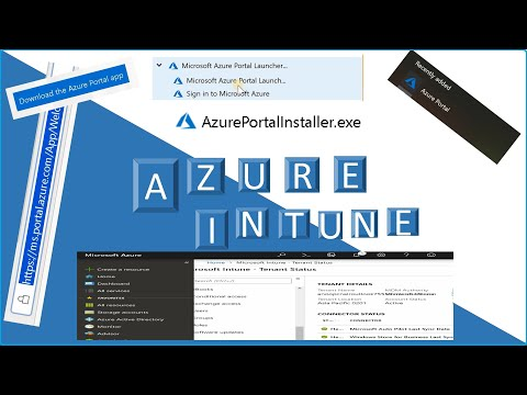 Azure Portal Application for Windows 10 - Intune Portal