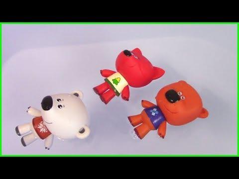 Ми-ми-мишки и МНОГО Бурлящих Шаров с Сюрпризами в ОГРОМНОЙ ванне! Кеша в Магазине