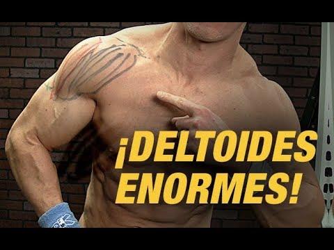 Construye Hombros Enormes - ¡¡Entrena las 3 Cabezas Del Hombro!! (ANTERIOR, MEDIA, POSTERIOR)
