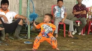Aksi Anak Umur 3 Tahun Mabuk kuda kepang