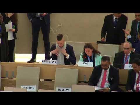 Jenna Schulman, Vienna Declaration General Debate, 37th Regular Session Human Rights Council
