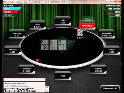 Full Flush Poker Bonus