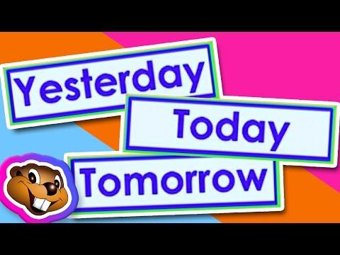 Teach Yesterday, Today, Tomorrow (Clip) - English Grammar