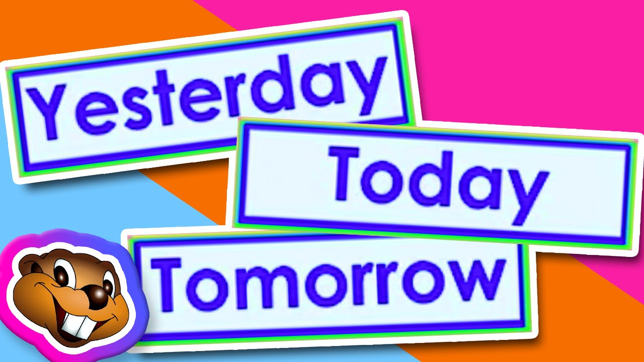Teach Yesterday, Today, Tomorrow (Clip) - English Grammar - YouTube