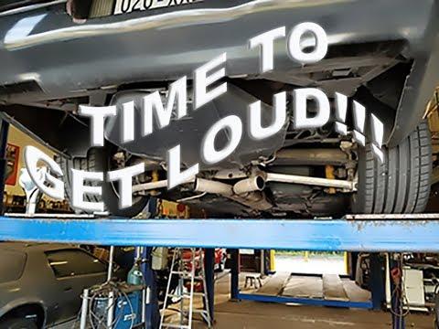 C4 Corvette Muffler Delete Success!