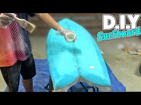 D.I.Y FISH SURFBOARD