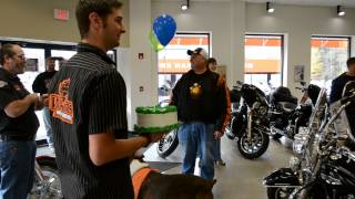 Sid thinks he is renting a Sportster for his birthday, but instead he gets an amazing surprise!