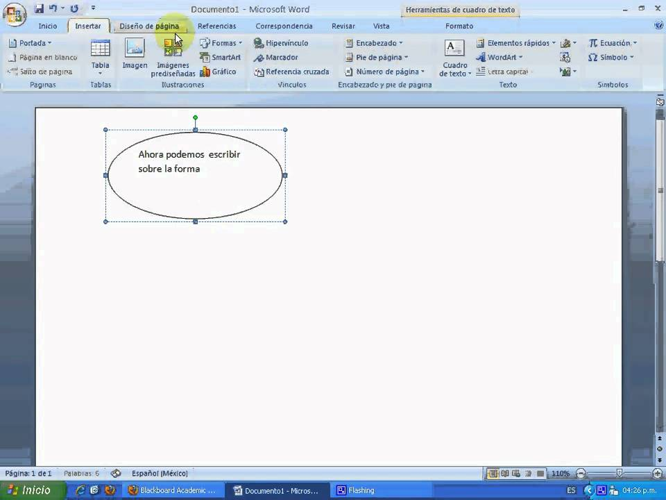 how to make a small 1 up in word 2007