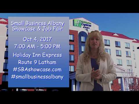 Small Business Showcase & Job Fair Albany Wednesday October 4, 2017