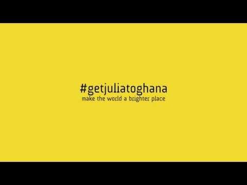 Get Julia to Ghana!