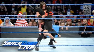 AJ Styles makes quick work of Samir Singh: SmackDown LIVE, Oct. 31, 2017