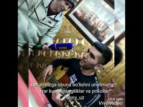 Jonli ijro gitarada yorvoribdiyu  Doston Ergashev