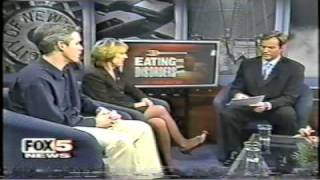 Tom Davis's appearances on television to talk about mental health