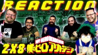 "My Hero Academia [English Dub] 2x8 REACTION!! ""Battle on, Challengers!"""