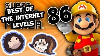 Super Mario Maker: Trouble on Dookie Island - PART 86 - Game Grumps