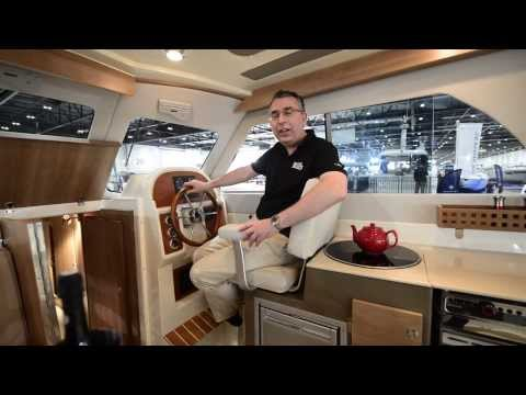 New Jersey 30 at the 2014 London Boat Show by MBM