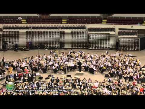 Alabama All State Middle School Band 04 16 2016