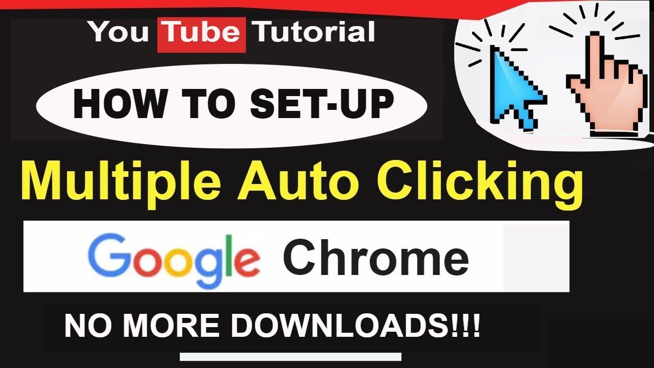 Multiple Auto Clicker in Google Chrome Extension