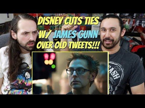 James Gunn FIRED from Disney?!?!