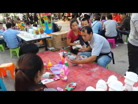 clay modelling and painting- Qibao-China