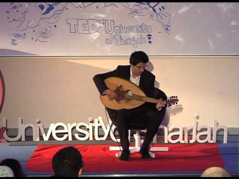 Performance: Basel Al-Debal at TEDxUniversityofSharjah