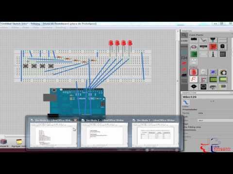 Videotutorial de Arduino 11: Obtener varias entradas digitales en una sola entrada analógica.