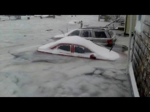 Bombogenesis USA, Icy Sea Flooding and Blizzards Rage | Mini Ice Age 2015-2035 (502)