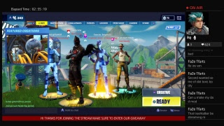 UNDERATED OG Fortnite live vbucks giveaway PLAYING WITH SUBZ