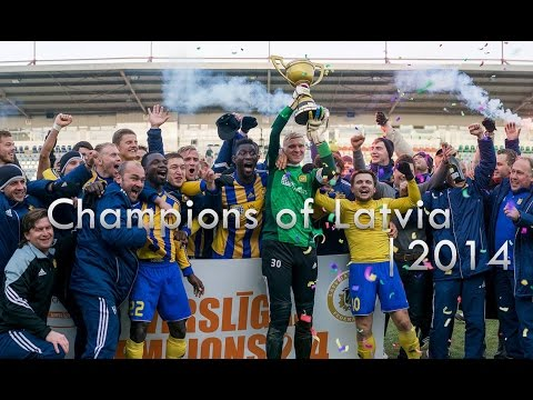 FK Ventspils • Champions of Latvia | 2014 • HD
