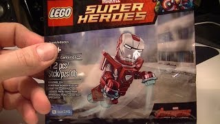 LEGO IRON MAN BUILD PRE ORDER FIGURE FOR LEGO AVENGERS