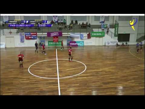E.C PINHIEROS Vs JOCKEY CLUB CORDOBA  - Pan de Clubes - Asunción 2017