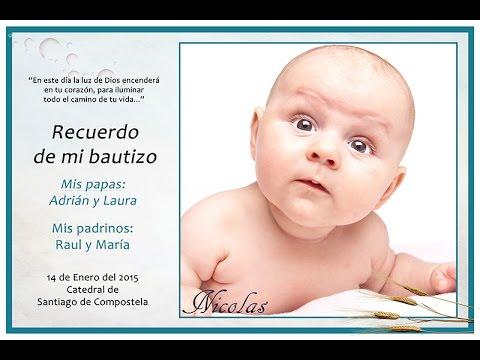 Tutorial Photoshop Español Realizar Tarjeta Invitación Bautizos