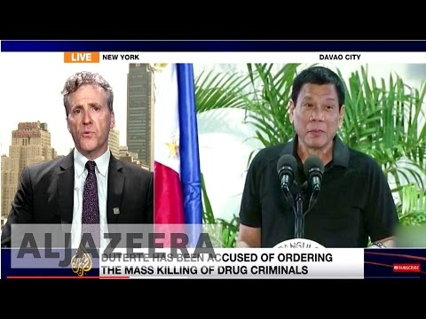 Human Rights Watch: Duterte inciting more deaths in the Philippines