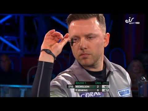 2018 Coral UK Open Darts Round 1 Nicholson vs T.Jenkins