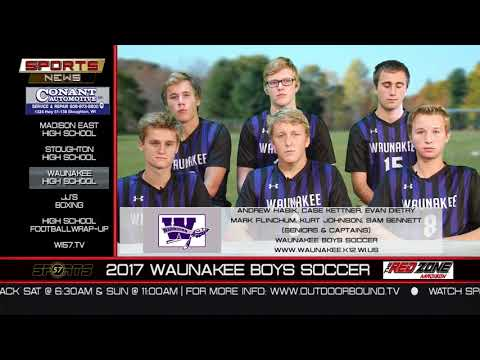 WI57 | The Sports News | Waunakee Soccer | 10-15-17