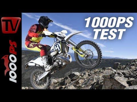 1000PS Test - Husqvarna Enduro 2018 - Zurück in die Zukunft!