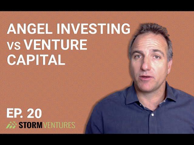 Angel investing vs. venture capital - AskAVC #20